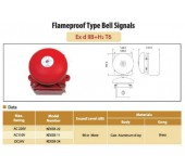 Flameproof Type Bell Signals