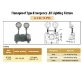 Flameproof Type Emergency LED Lighting Fixture
