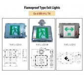 Flameproof Type Exit Light