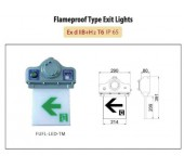 Flameproof Type Exit Light 2