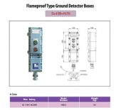 Flameproof Type Ground Detector Boxes