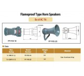 Flameproof Type Horn Speakers