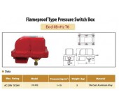 Flameproof Type Pressure Switch Box