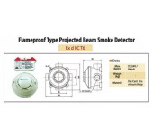 Flameproof Type Projected Beam Smoke Detector