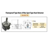 Flameproof Type Rate of Rise Spot Type Heat Detector