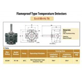 Flameproof Type Temperature Detectors