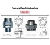 Flameproof Type Union Couplings