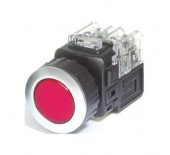 PUSH BUTTON LAMP SWITCH (KGX-HAD21R) Red