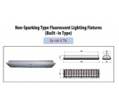Non-sparking Type Fluorescent, LED Lighting Fixtures (Built-in Type)